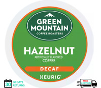 Green Mountain Hazelnut DECAF Keurig Coffee K-cups YOU PICK THE SIZE