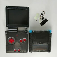 Glow in the Dark GBA SP Gameboy Advance SP Housing Shell Case Kit Smoky Black