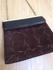 LORBAC Vintage Suede Handbag VGC