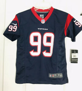 New Youth J.J. Watt Houston Texans Football Jersey Nike Small #99