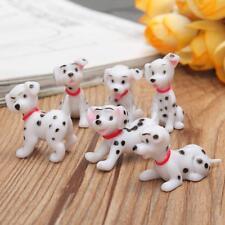 6x Mini Dog Fairy Garden Miniature Figurine Craft Micro Landscape Ornament Decor