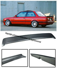 For 85-91 BMW E30 3-Series M-Tech 1 Style Rear Trunk Lid Wing Spoiler Kit