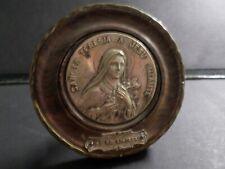 ANCIEN PETIT QUADRE SANCTA TERESIA A JESU' INFANTE, RELIGIEUX, SIGNE'