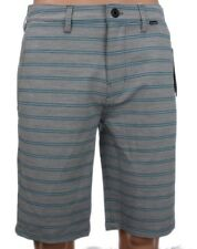 "Hurley Men's Breathable Comfort Grey Blue 21.5"" Nike Dri-Fit Shorts MWS0005280"