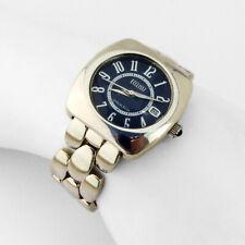 Ecclissi Man Bracelet Wrist Watch Blue Dial Sterling Silver