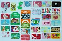 Target Gift Card - LOT of 33 Diff - Older & Recent Styles - Bullseye - No Value