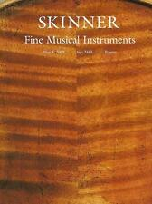 Skinner // Violin Viola Musical Instruments Auction Catalog 2009