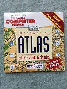 Interactive Atlas of Great Britain (OS Atlas 2) CD-ROM