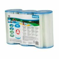 Intex Pool Easy Set Type A Replacement Filter Pump Cartridge | 29000E (3 Pack)