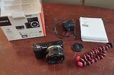 Sony Alpha a5000 20.1MP Digital SLR Camera - Black (Kit w/ E PZ OSS 16-50mm Len…