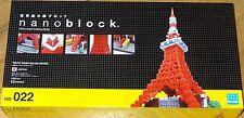 Tokyo Tower Deluxe Edition Nanoblock Micro Sized Building Blocks Mini NB022