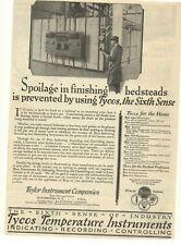 1928 Tycos Temperature Instruments Advertisement Rochester, New York