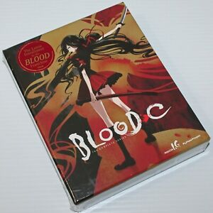 BLOOD-C: The Complete Series 2013 Anime 4-Disc Blu-ray + DVDs And Extras NEW!!