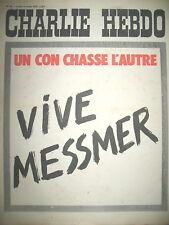 CHARLIE HEBDO N° 86 VIVE MESMER PAR WOLINSKI REISER GéBé CABU  1972
