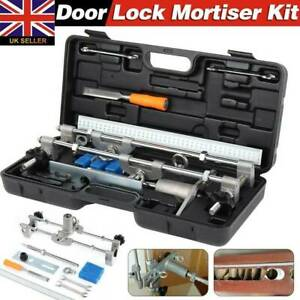 JIG1 Door Lock Mortiser Kit With 3 Cutters 18/22/25mm-Lock Fitting Jig