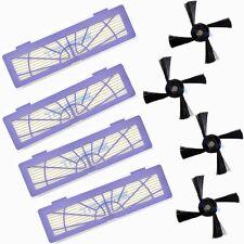 8x HEPA Filter Side Brush for Neato BotVac 70e 750 80 85 D75 D85 Robotic Cleaner