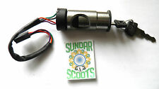 IGNITION SWITCH FOR VESPA PX & LML SCOOTERS. SELF START TYPE - 4 WIRES - 2 KEYS