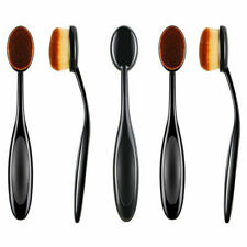 1PCS New Makeup Puff Brush Soft Toothbrush Shaped Oval Cosmetic Tools Black