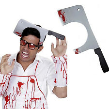 Chop Knife Thru The Head Novelty Prop For Novelty Halloween Toy Weapon FancyDres