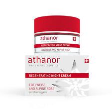 Athanor Edelweiss Alpine Rose Night Creme 99,9% organic cosmetic mit Stammzellen