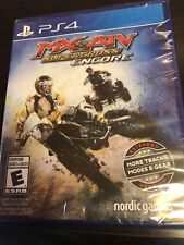 MX vs. ATV SUPERCROSS ENCORE PS4 NEW! MOTORCROSS RACING, DIRT TRAIL, BIKE RACE