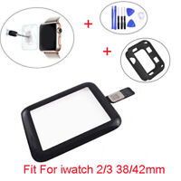 Front Touch Screen Glass Digitizer For Apple Watch iWatch Series 2/3 38mm 42mm