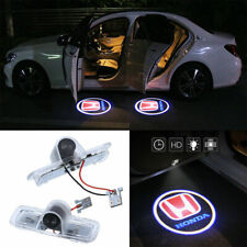 2x Red Led Lights Car Door Courtesy Projector For Honda Accord Crosstour Pilot