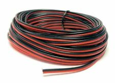 Gaugemaster PM09RB - 10m Roll Twin Ribbon Point/Power Wire Red/Black - 1st Post