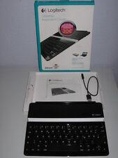 Logitech Ultrathin Keyboard Cover für iPad * Bluetooth Tastatur * Schwarz * OVP!