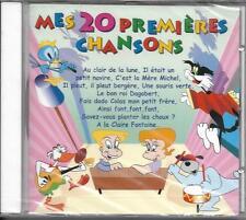 CD 20 TITRES MES 20 PREMIÈRES CHANSONS ALOUETTE/AINSI FONT, FONT, FONT....NEUF