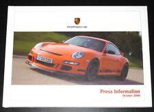 Porsche 911 GT3 RS+Targa 4+Boxster 2006 Pressemappe/Press Kit/Buch/Book/brochure