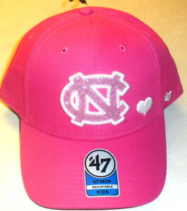 North Carolina Tar Heels Girls Kids All Pink adjustable Strapback hat New Ncaa
