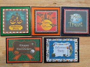 Halloween Cards Happy Halloween Trick or Treat Halloween Party Family & Friends