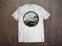 Pink Floyd Men White T-shirt Rock Band The Wall Fan Tee Shirt