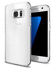 Carcasa de TPU Spigen Liquid Crystal para Samsung Galaxy S7 - claro