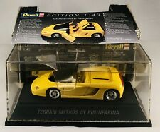 REVELL- EDITION 1/43  #8502  Ferrari Mythos by Pininfarina 1993 - YELLOW