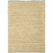 Sand Cream Hand Woven Quality Natural Jute Rug Designer Living Room Area Rug