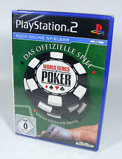 WORLD SERIES OF POKER für PlayStation 2 NEU in Folie Sony PS2 Spiel