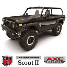 Redcat 1/10 Gen8 Scout AXE Edition Sin escobillas 4WD Crawler II Listo Para Correr Negro