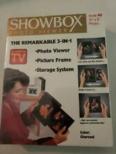 Factory Sesled Showbox Photo Viewer As Seen On TV 3 In 1 Picture Frame Photo Vie