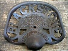 Blackstone Cast Iron Seat Cabin Lodge Man Cave Home Farm Barn Garage Decor New