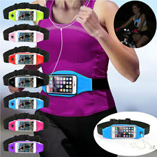Running Sport Outdoor Gym Waist Belt Bag Case Cover Pouch For iPhone Samsung