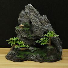 Aquarium Decoration Fish Tank Landscape Resin Rock Mountain Ornament Rockery
