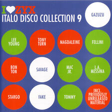 CD zyx italo disco collection 9 de various artists 3cds