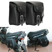 PU Side Saddle Bag For Honda Shadow VT VT1100 VT750 VT600 VF750 Magna 750