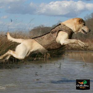 AVERY GREENHEAD GEAR GHG STANDARD NEOPRENE DOG PARKA VEST BUCKBRUSH CAMO MEDIUM