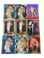 ZHOU QI (9) ROOKIE CARDS LOT - No Dupes - PRIZMS + Parallels - $$$