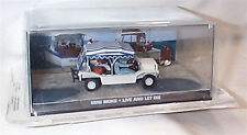 JAMES BOND MINI MOKE Live And Let Die New sealed Pack 1:43 scale