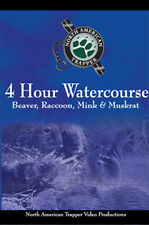 4 Hour Watercourse by Alan Probst Beaver, Raccoon, Mink, & Muskrat (Dvd)