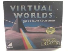 Virtual Worlds Commodore C64 Game The 3d Collection By Domark 1991